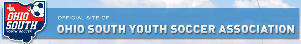 Ohio South Youth Soccer banner